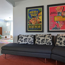 Midcentury Family Room by Sarah Greenman