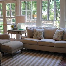 Traditional Family Room by House Dressing Interiors, LLC