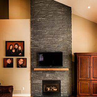 stone veneer fireplace houzz rh houzz com