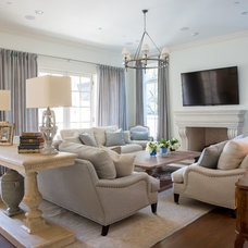 Traditional Family Room by Coats Homes