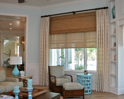 Layered Window Treatments Houzz