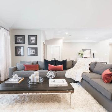 Dean Estates | Cranston, RI - Kitchen | Dining | Living Remodel