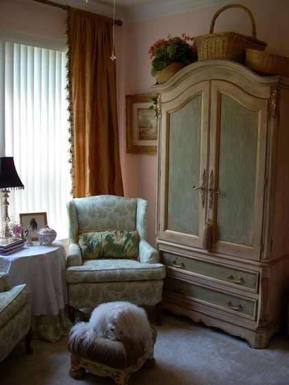 Eclectic Family Room by Deborah Levy Designs