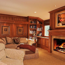 Traditional Family Room by Debra Campbell Design