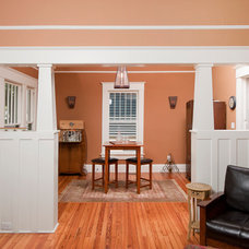 Traditional Family Room by Construction Ahead
