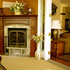 Eclectic Family Room by Home Restoration Services, Inc.
