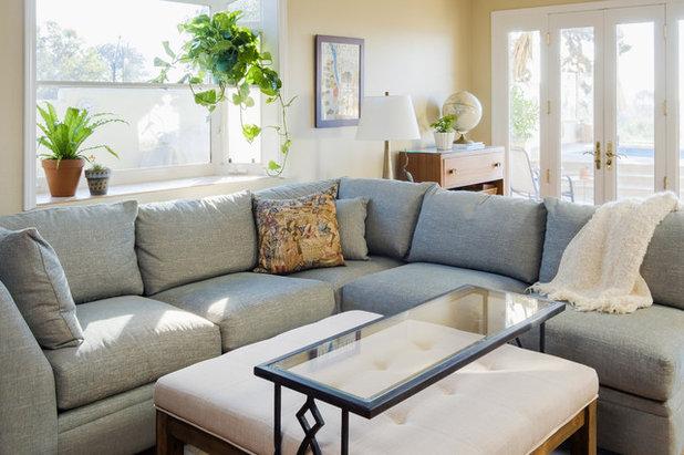 Beach Style Family Room By DANIELLE Interior Design U0026 Decor