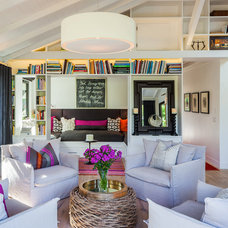Eclectic Family Room by Lori Smyth Design