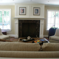 Traditional Family Room by Pam Chapman Architect
