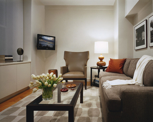 Contemporary Family Room by Denise DeCoster Architect