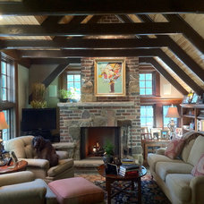 Traditional Family Room by Monarch Renovations
