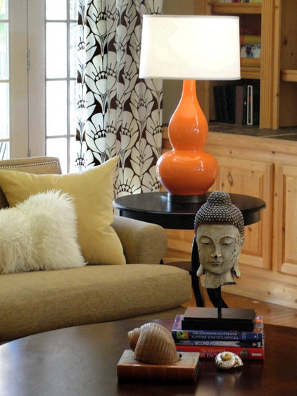 Eclectic Family Room by Rebekkah Davies Interiors + Design