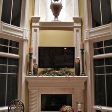 Traditional Family Room by Dennis Ott Builders