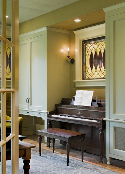 victorian family room by smith vansant architects pc arrange office piano room