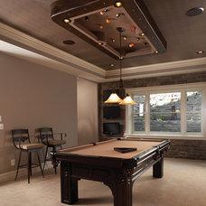 Traditional Family Room by Joe Ahmann, Ahmann Design, Inc.