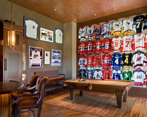 Framed Jerseys Home Design Ideas Pictures Remodel And Decor