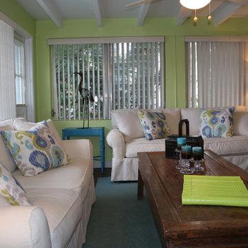 Design Project - Aqua Cottage - Vero Beach FL - Shanghai Green Antiques