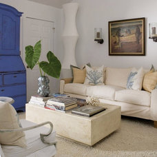 Beach Style Family Room by DCOTA Design Services