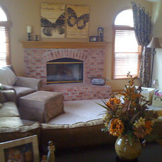 Traditional Family Room by Designs by Denise