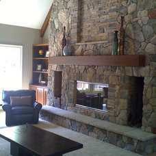Family Room by Designs by Denise