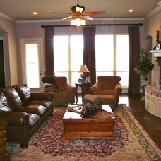 Traditional Family Room by First Choice Interiors, LLC