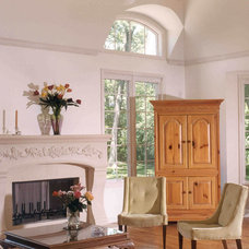 Traditional Family Room by Bud Dietrich, AIA