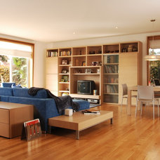 Contemporary Family Room by HABITALY by marcopolo