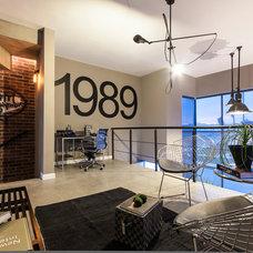 Contemporary Family Room by CityLoft