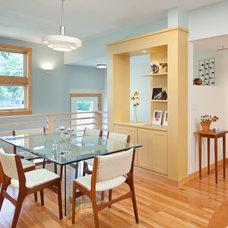 Contemporary Family Room by Feinmann, Inc.