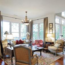 Farmhouse Family Room by Renew Properties