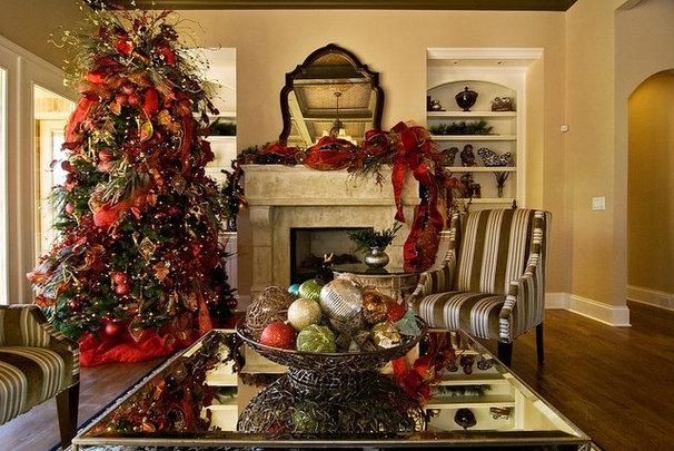 Traditional Family Room by Ethan Allen