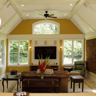 Dormer style family room