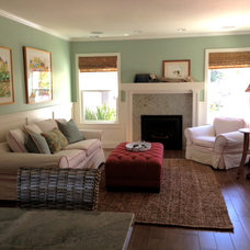 Traditional Family Room by McNary Construction