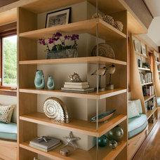 Contemporary Family Room by Siemasko + Verbridge