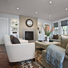 Contemporary Family Room by B.Design