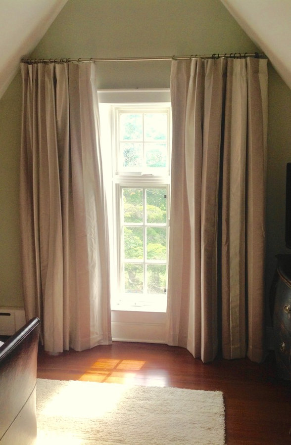 Drapes with Blackout Lining