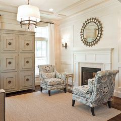 traditional family room by Dream House Studios