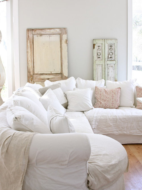 White Slipcover Home Design Ideas Pictures Remodel And Decor