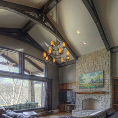traditional family room by Olson Defendorf Custom Homes