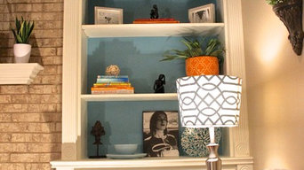 "Dunwoody Family Room Makeover ""Coastal Corners"""