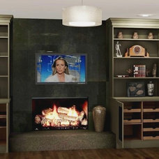 Modern Family Room by East Coast Crafters, LLC.