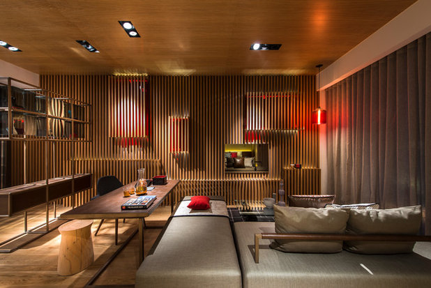 Modern Family Room by Ministry of Design
