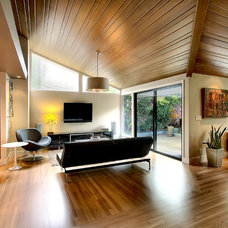 Contemporary Family Room by Dyna Contracting