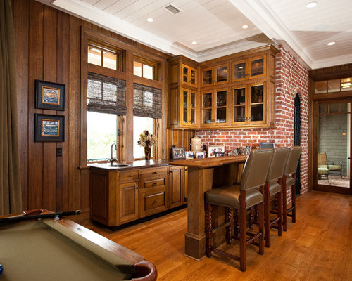 Example Of A Classic Game Room Design In Charleston