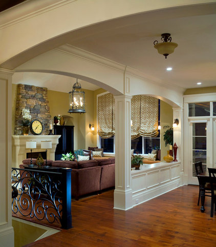 Traditional Family Room by kbcdevelopments