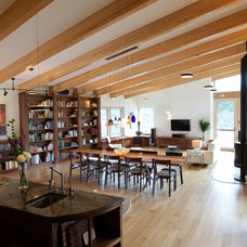 Contemporary Family Room by Kaplan Thompson Architects