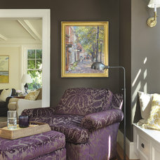 Traditional Family Room by Taste Design Inc