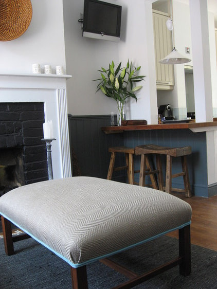 Traditional Family Room East Sussex Cottage with a modern/country style