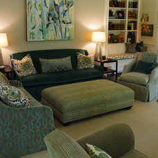 Contemporary Family Room by Holly Phillips @ The English Room