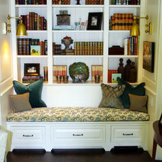 Traditional Family Room by Holly Phillips @ The English Room